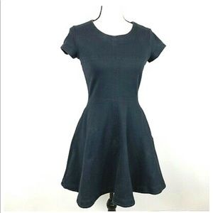 Kate Spade Saturday Fit Flare Little Black Dress Size Small